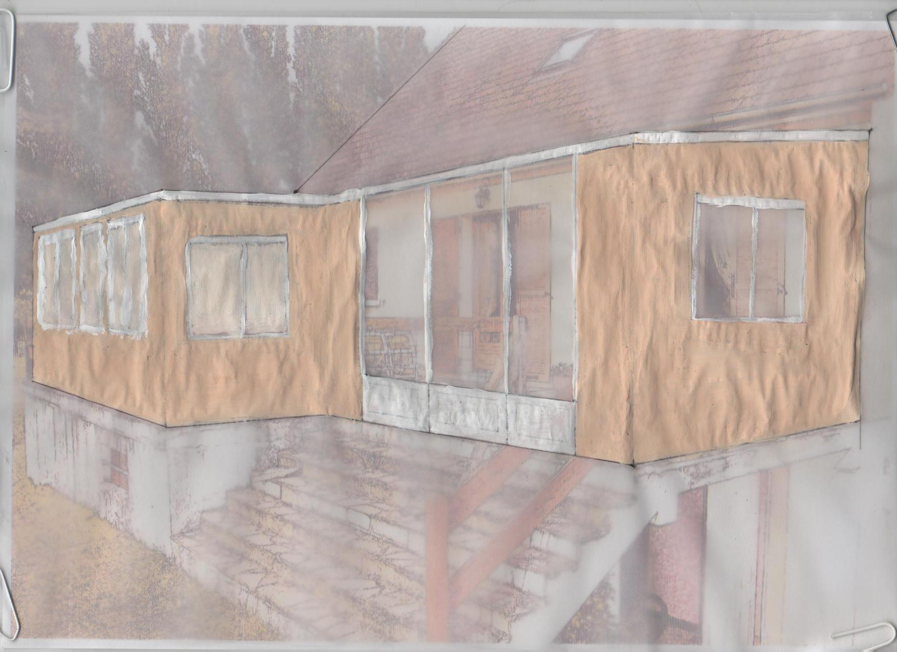 Permis de construire pour une veranda for Obtenir permis de construire